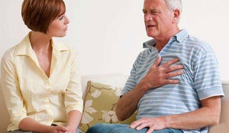 老年人血栓的症状,胸闷