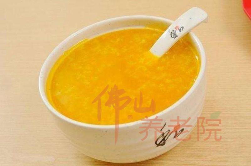 秋季养生粥,南瓜小米粥